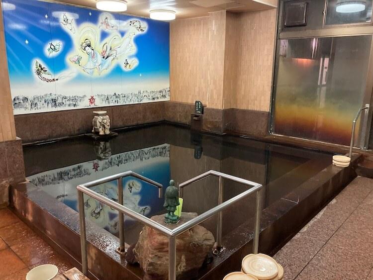 湯巡り日本一周Nバン車中泊31湯目 ホテルなはりの日帰り温泉の内湯