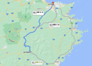 日本一周Nバン車中泊39日目 高千穂峡でマイナスイオンを浴びまくる!海沿いではなく高千穂峡を通るルート
