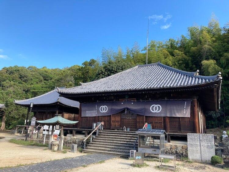 四国お遍路車中泊の旅8日目 49番札所 西林山 浄土寺(じょうどじ)の本堂