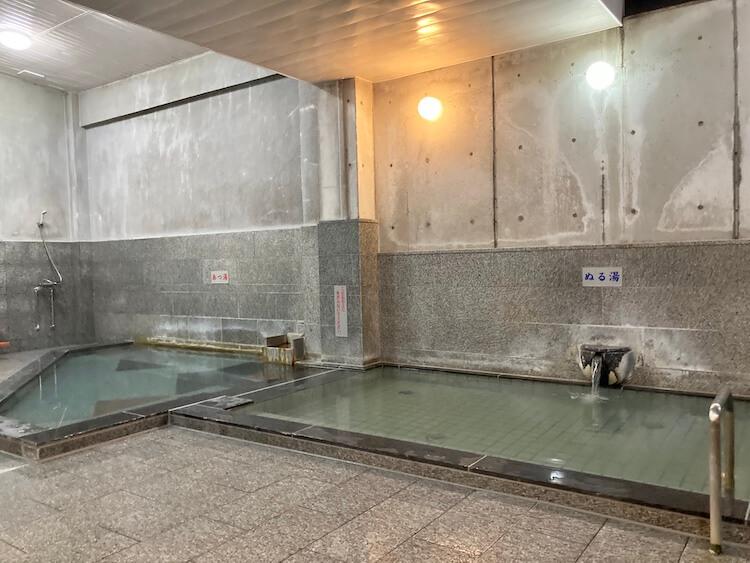 湯巡り日本一周Nバン車中泊34湯目 湯ノ浦温泉 四季の湯 ビア工房の内湯