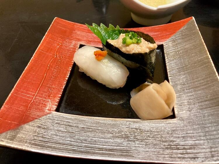 湯巡りNバン日本一周車中泊37日目 大分ふく亭本店で臼杵ふぐを堪能!ふく亭のふぐ寿司