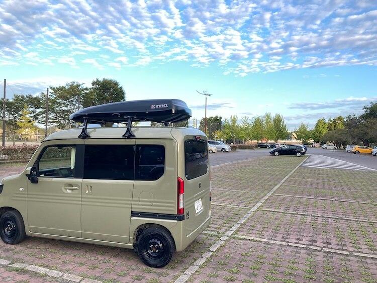 大分市おすすめのの車中泊スポット 七瀬川自然公園