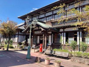 湯巡り日本一周Nバン車中泊39湯目 別府竹瓦温泉の外観