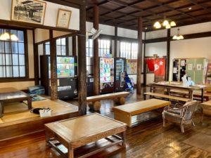 湯巡り日本一周Nバン車中泊39湯目 別府竹瓦温泉の休憩所