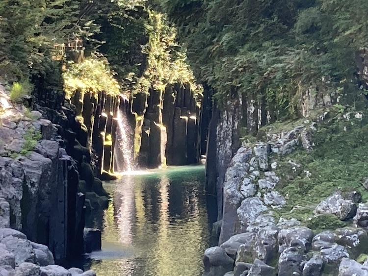 日本一周Nバン車中泊39日目 高千穂峡でマイナスイオンを浴びまくる!高千穂峡のボートが楽しみ!