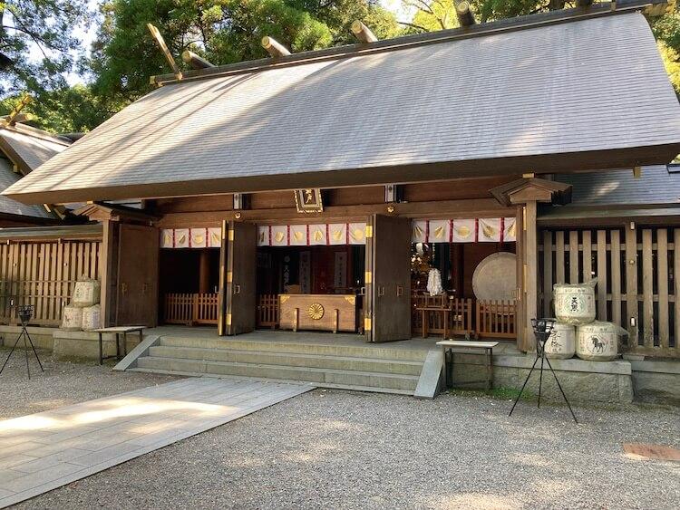 日本一周Nバン車中泊39日目天岩戸神社は高千穂峡から10km、天岩戸神社の本殿