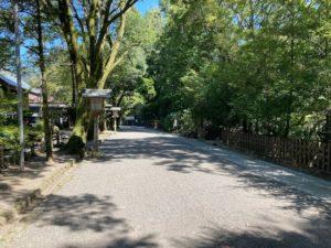 日本一周Nバン車中泊39日目天岩戸神社は高千穂峡から10km、駐車場に車を停めて参道へ
