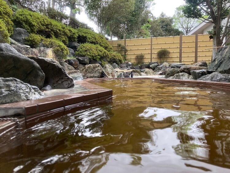 湯巡り日本一周Nバン車中泊40湯目 新富町温泉健康センター サン・ルピナスの露天風呂