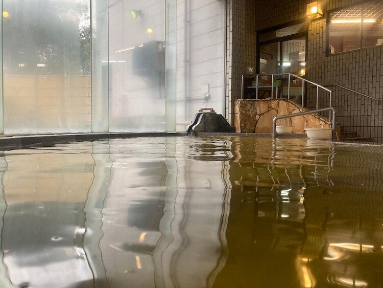 湯巡り日本一周Nバン車中泊40湯目 新富町温泉健康センター サン・ルピナスの内湯