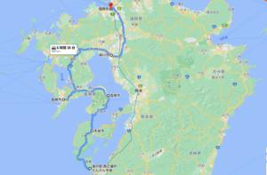日本一周acNバン車中泊44日目 九州一周、今後のルートを考える