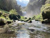 日本一周Nバン車中泊43日目 九州ーのパワースポット 神川大滝