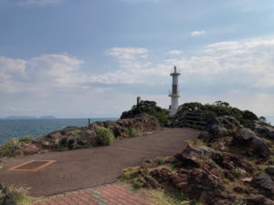 日本一周Nバン車中泊43日目 薩摩半島最南端 薩摩長崎鼻灯台