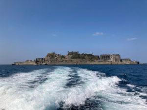 長崎行ったら絶対行くべし!軍艦島ツアーは軍艦島コンシエルジュのジュピター号から見る軍艦島