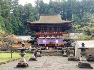 四国お遍路のお礼参り!高野山参拝のルート・順序その1丹生都比売神社の本殿