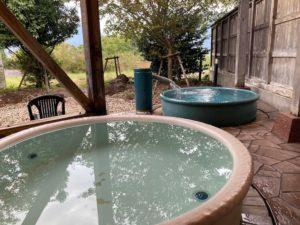 湯巡り日本一周Nバン車中泊49湯目 海洋深層水のお風呂 夢古道おわせの露天風呂