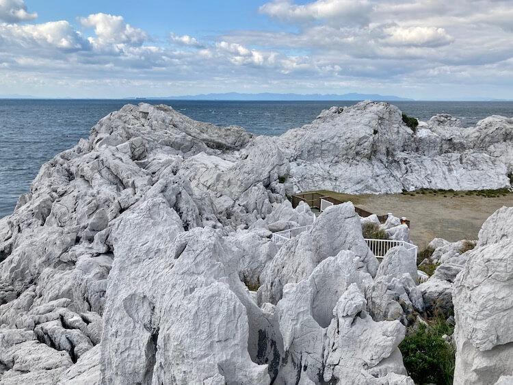 【白崎海洋公園】日本のエーゲ海?イヤ、どう見てもドラクエ3