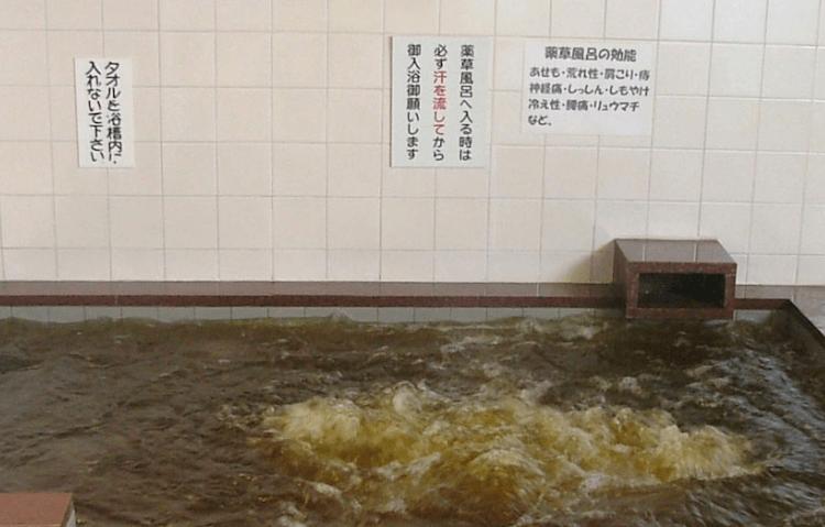 湯巡り日本一周Nバン車中泊 64湯目 サウナーの聖地!サウナしきじの薬草風呂