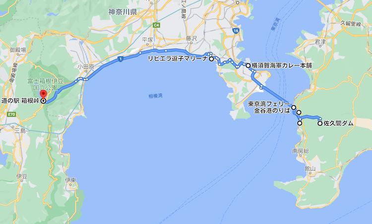 日本一周Nバン車中泊60日目 走行距離は? 128km。