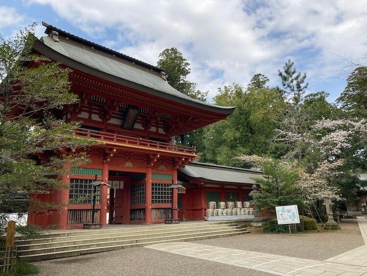 湯巡りNバン日本一周車中泊58日目 香取神宮で旅の安全祈願