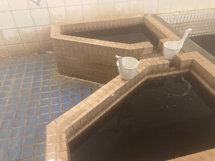湯巡り日本一周Nバン車中泊番外編 57湯目 クアハウス御宿 とろみの湯かけ湯