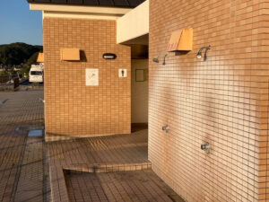 湯巡りNバン日本一周車中泊59日目 勝浦・御宿で車中泊なら部原簡易パーキングのシャワー