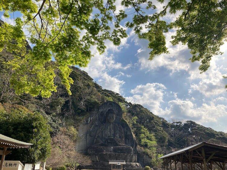 湯巡りNバン日本一周車中泊59日目 鋸山の写真をひたすらアップ鋸山日本寺の大仏
