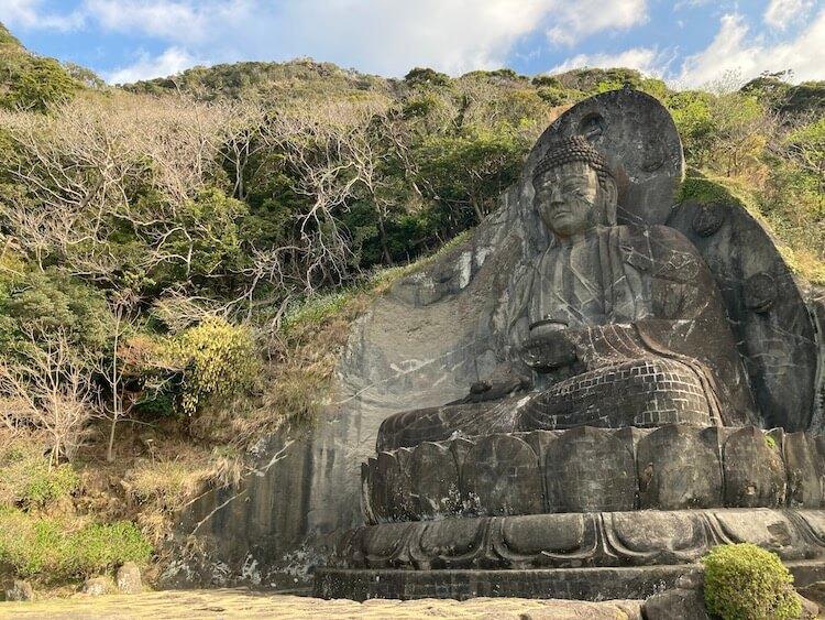 湯巡りNバン日本一周車中泊59日目 鋸山の写真をひたすらアップ 鋸山日本寺の大仏