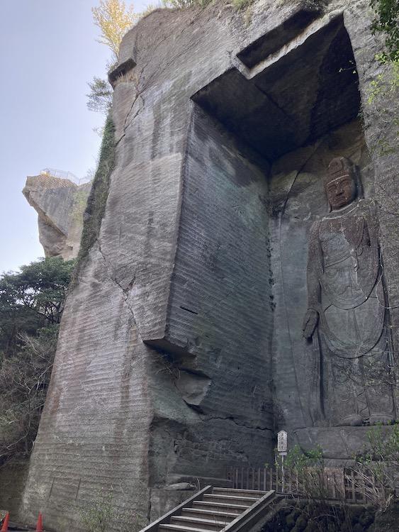 湯巡りNバン日本一周車中泊59日目 鋸山の写真をひたすらアップ 鋸山日本寺の千手観音
