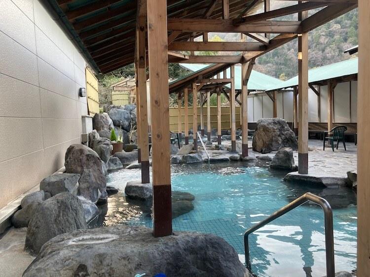 湯巡り日本一周Nバン車中泊 59湯目 箱根の湯の露天風呂