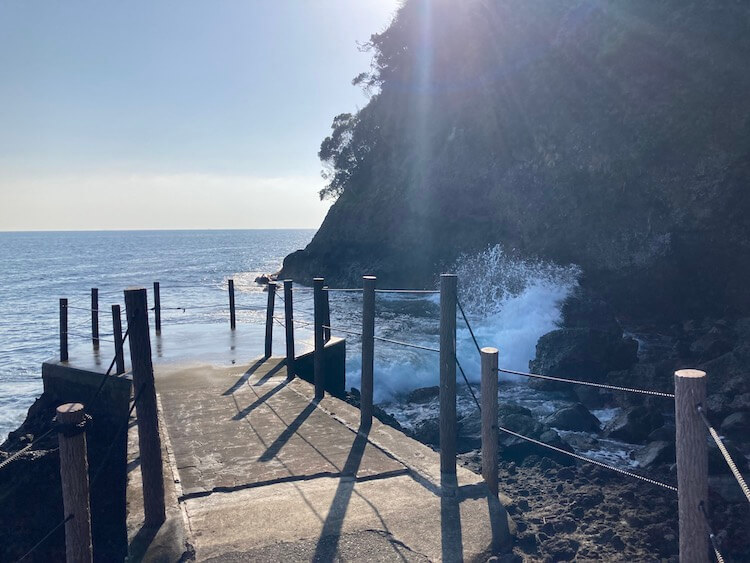 湯巡りNバン日本一周車中泊62日目 伊東汐吹公園
