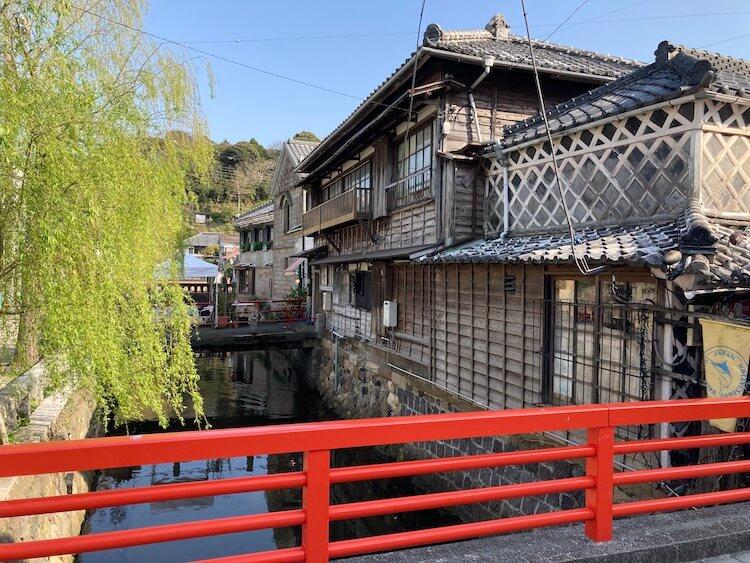 湯巡り日本一周Nバン車中泊 61湯目 ペリーロードを散策