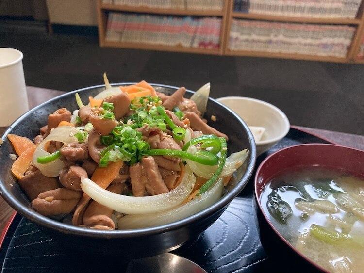 湯巡り日本一周Nバン車中泊 64湯目 サウナーの聖地!サウナしきじの白モツガーリック丼