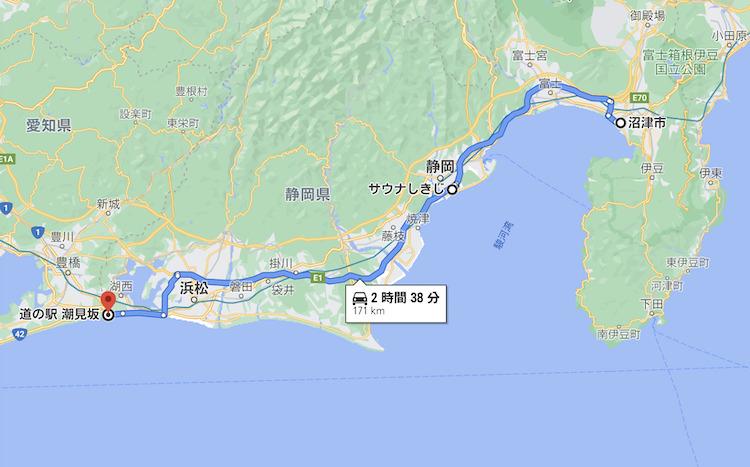 日本一周Nバン車中泊62日目 走行距離は、、、171km。