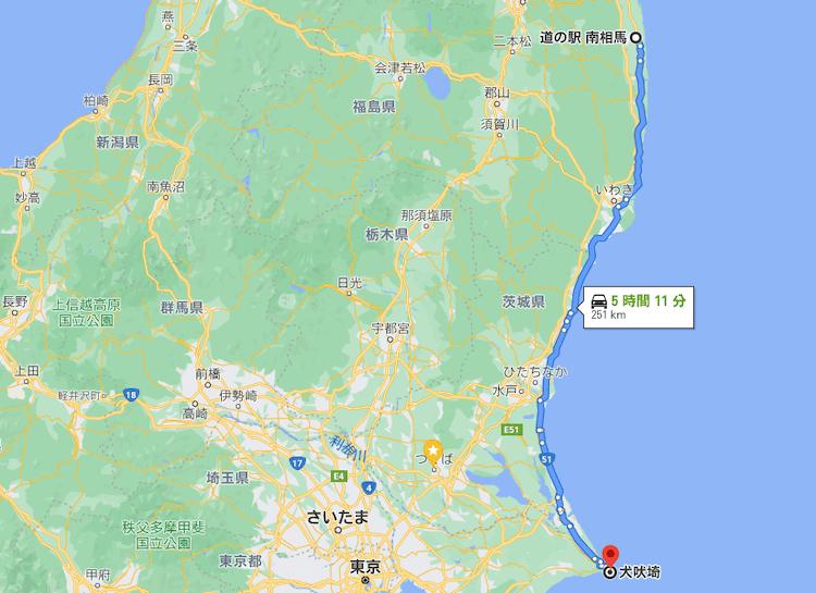 道の駅南相馬から犬吠埼へ。日本一周無事ゴール!