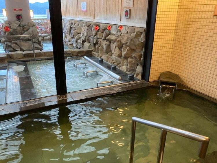 湯巡り日本一周Nバン車中泊 69湯目 宮浜紅まんさくの湯の内湯