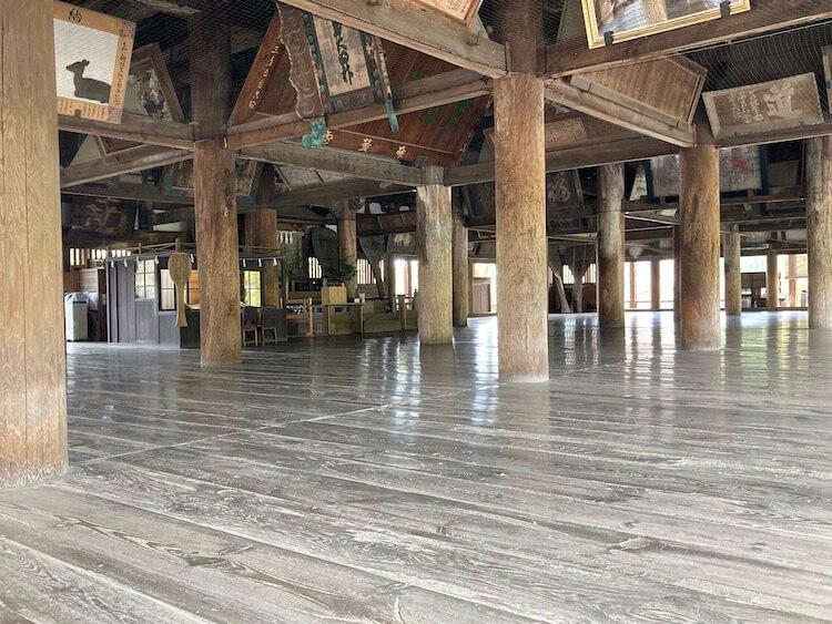 宮島の豊国神社(千畳閣)