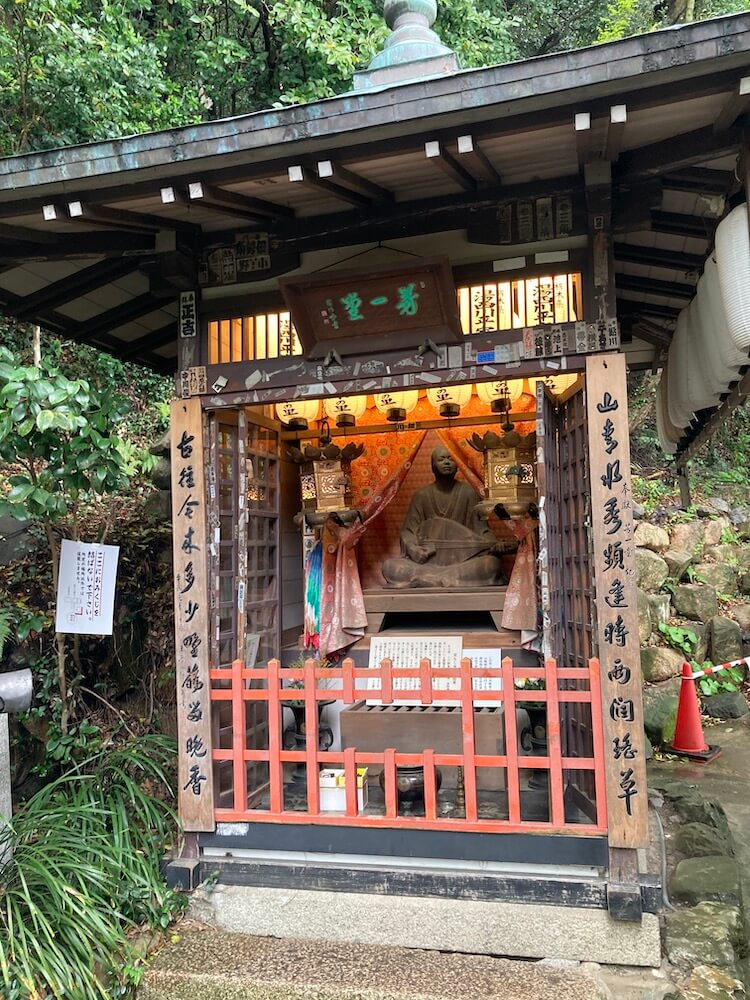 湯巡りNバン日本一周車中泊71日目 唐戸市場から赤間神宮へ 耳なし芳一のお堂