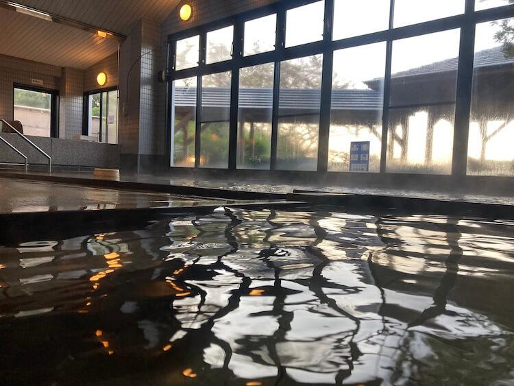 湯巡り日本一周Nバン車中泊 72湯目 多伎いちじく温泉の内湯