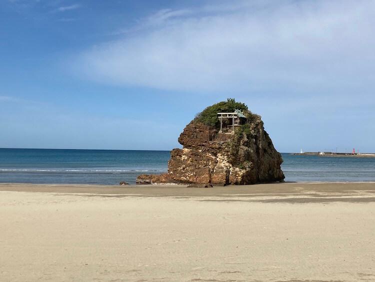 出雲大社参拝を終えて、稲佐の浜へ