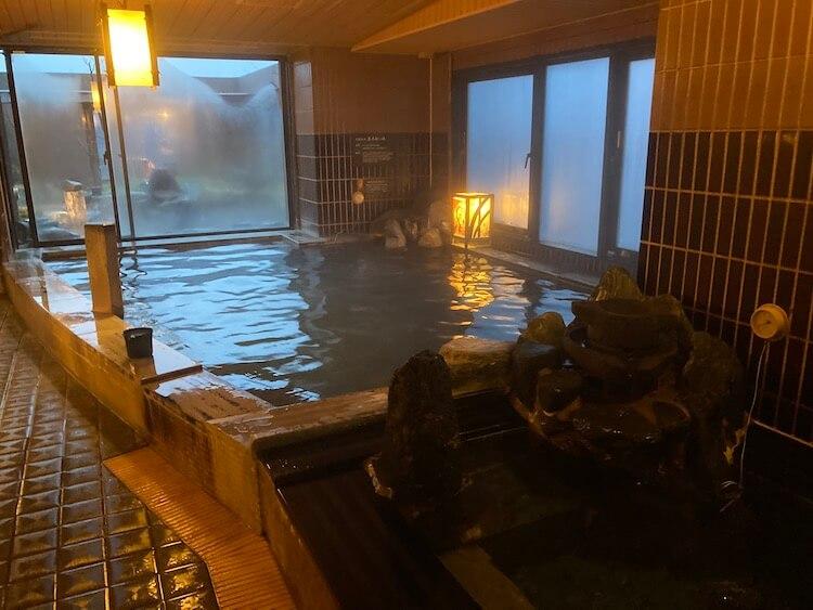 湯巡り日本一周Nバン車中泊 81湯目 ドーミーイン弘前岩木桜の湯の内湯