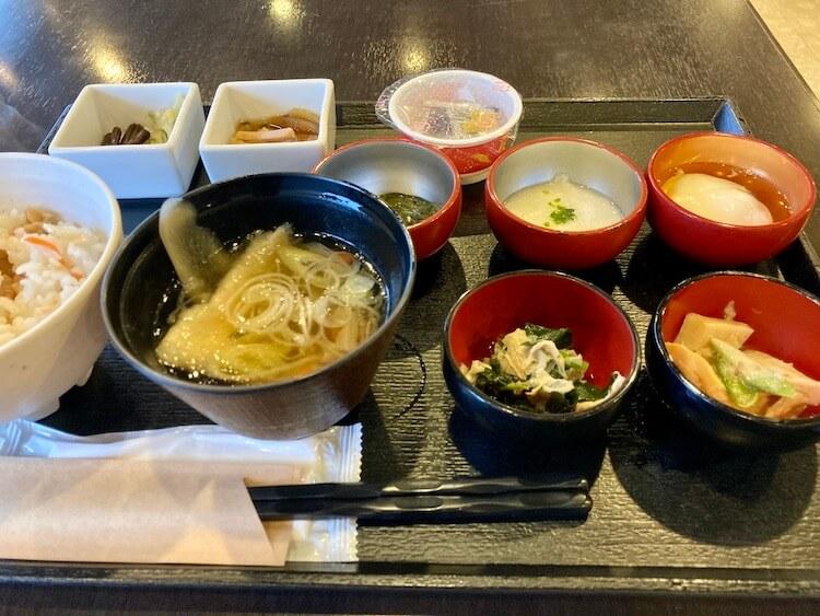 湯巡り日本一周Nバン車中泊 81湯目 ドーミーイン弘前岩木桜の湯の朝食