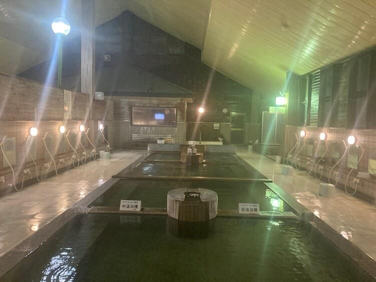 湯巡り日本一周Nバン車中泊 82湯目 下田温泉ゆーらくえんの内湯