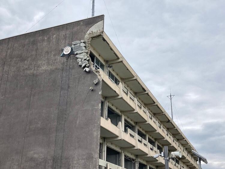 気仙沼市東日本大震災遺構・伝承館は被災した気仙沼向洋高校の旧校舎