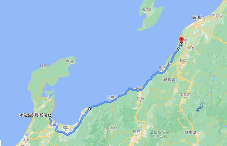 日本一周Nバン車中泊76日目 走行距離は、、、241kmでした。