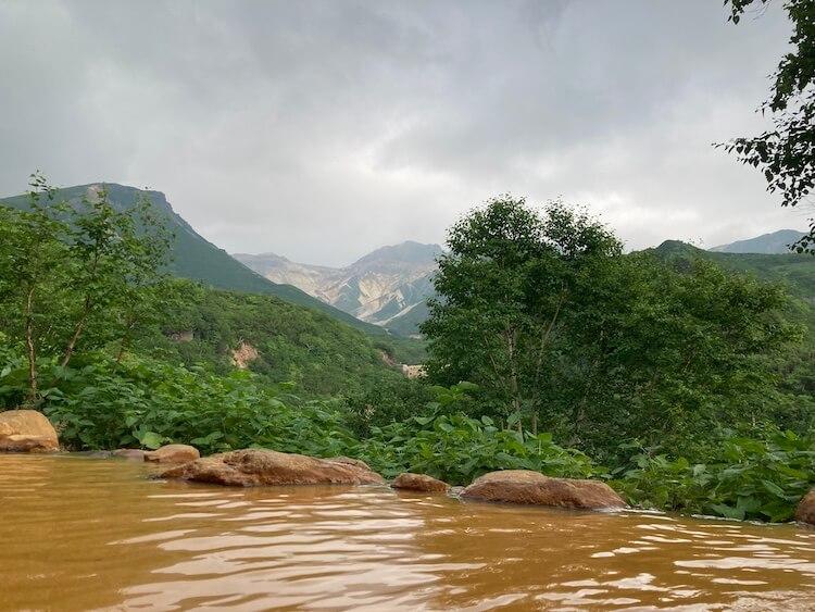 湯巡り日本一周Nバン車中泊 93湯目 十勝岳温泉 凌雲閣